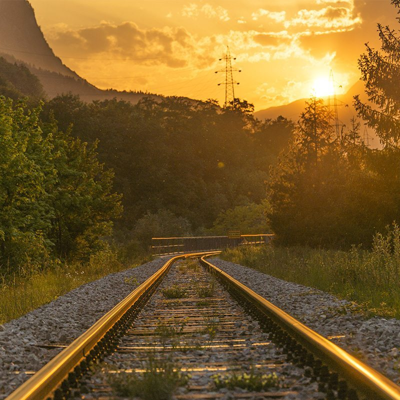 ARRIVER EN TRAIN