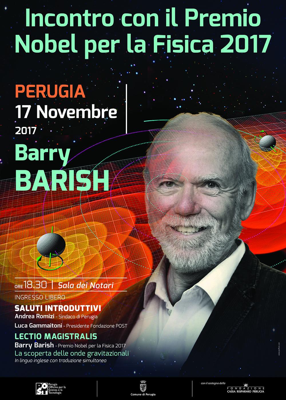 Barry Barish a Perugia