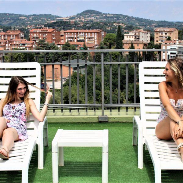 Hotel panorama Perugia