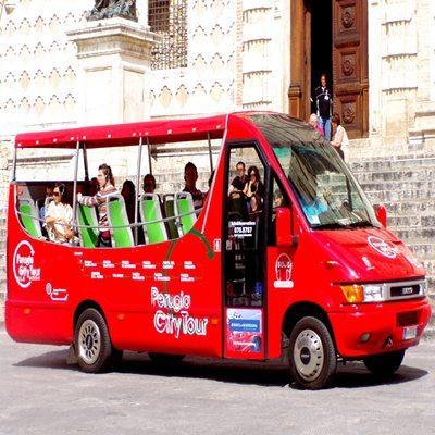 Perugia City Tour in Minibus