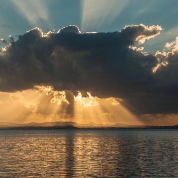 Puestas del sol impresionantes